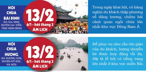 [infographic] 11 le hoi doc la o mien bac khong nen bo qua - 1