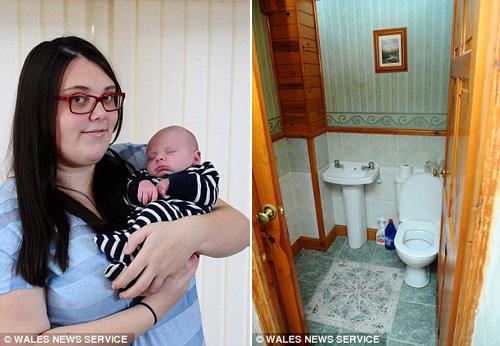mẹ sóc nạng khi dẻ roi con mói biét có thai - 1