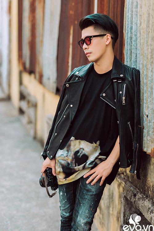 stylist travis nguyen bat mi bi quyet mac quan jeans - 12
