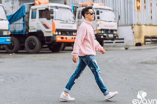 stylist travis nguyen bat mi bi quyet mac quan jeans - 8
