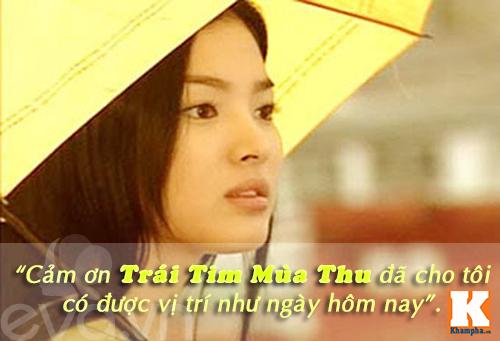 "nhan sac cua song hye kyo ""tre mai khong gia"" - 1"