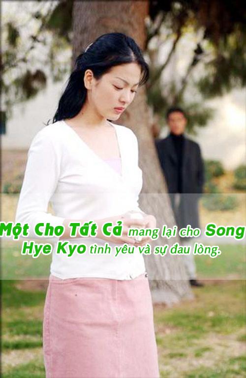 "nhan sac cua song hye kyo ""tre mai khong gia"" - 2"
