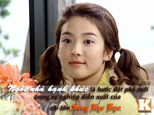 "nhan sac cua song hye kyo ""tre mai khong gia"" - 3"
