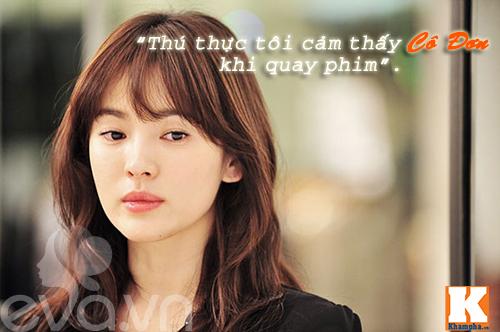 "nhan sac cua song hye kyo ""tre mai khong gia"" - 5"