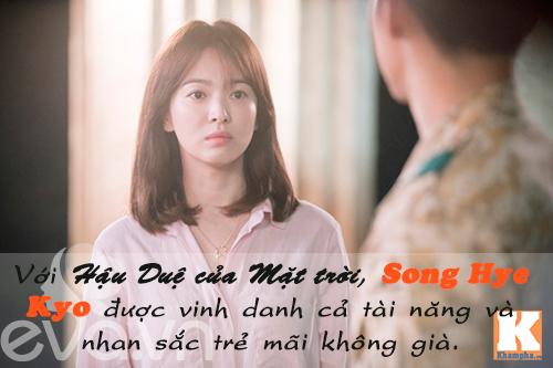 "nhan sac cua song hye kyo ""tre mai khong gia"" - 6"