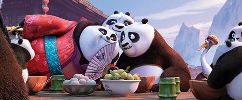 """kungfu panda 3"": khi gau po tro lai va con loi hai hon xua - 3"