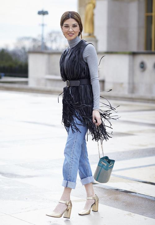cach mac jeans cuc chat cho phai dep xu lanh - 17