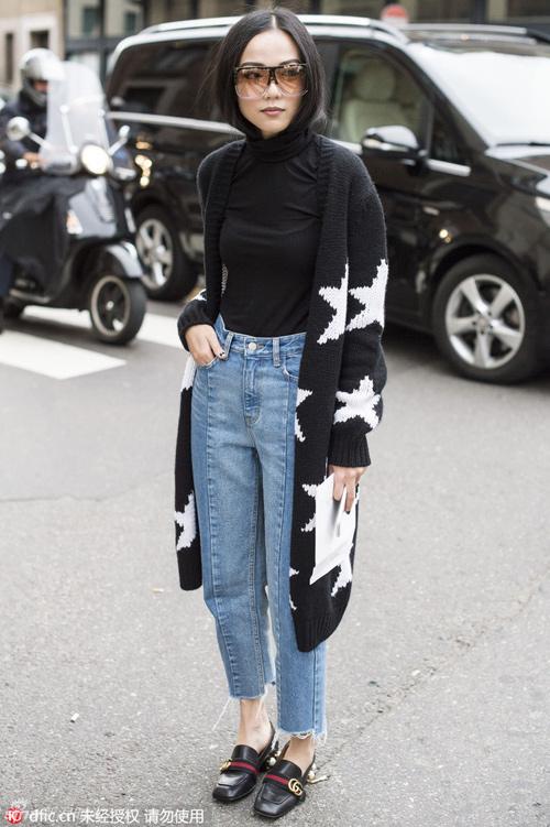 cach mac jeans cuc chat cho phai dep xu lanh - 2
