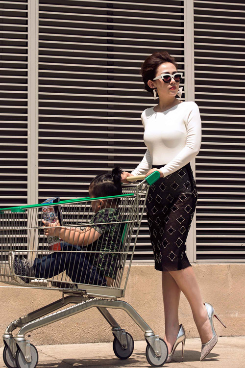 tin do thoi trang viet khoe con trong anh street style - 5