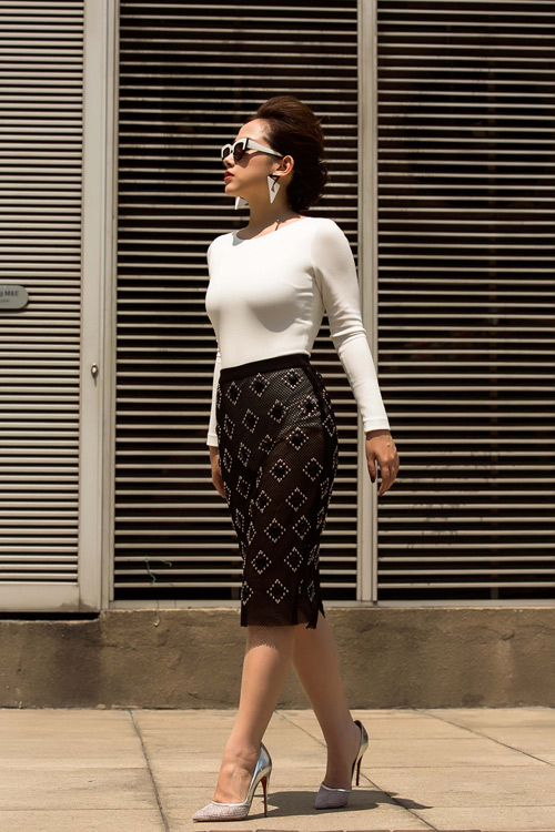 tin do thoi trang viet khoe con trong anh street style - 7