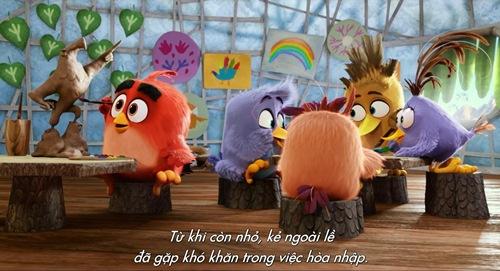 "khong the nhin cuoi voi ""thanh nho"" cua ""angry birds""! - 1"