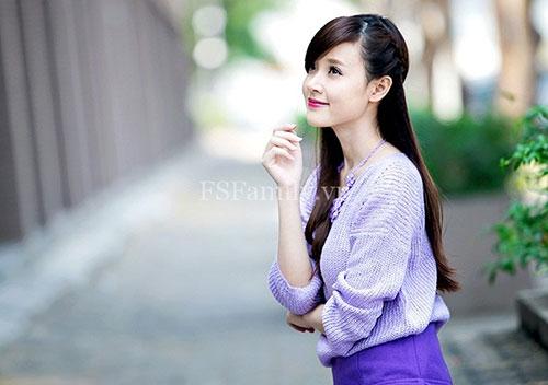 tao kieu xinh yeu cho ban gai toc dai di choi 8/3 - 2