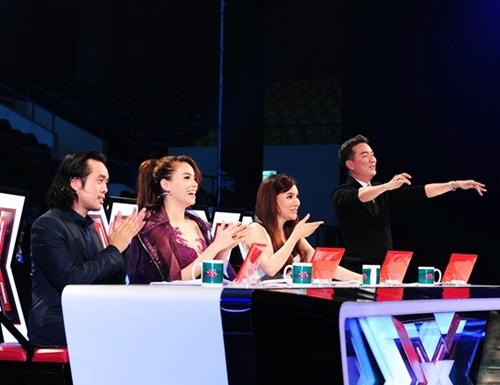 """ho quynh huong tro lai x-factor, ha ho thoi ngoi """"ghe nong""""? - 5"""