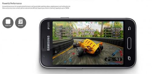 samsung ra mat smartphone cau hinh thap gia re galaxy j1 mini - 2