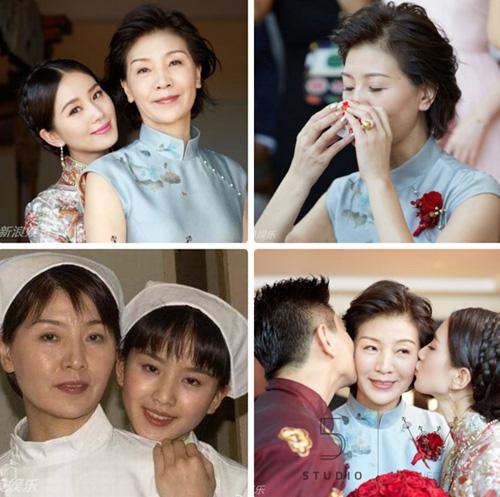 """nhung cap me con """"hoa ghen thua tham, lieu hon kem xinh"""" cua cbiz - 1"""