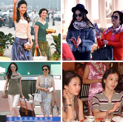 """nhung cap me con """"hoa ghen thua tham, lieu hon kem xinh"""" cua cbiz - 3"""