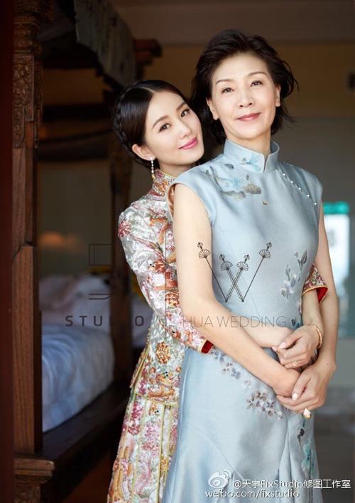 """nhung cap me con """"hoa ghen thua tham, lieu hon kem xinh"""" cua cbiz - 2"""