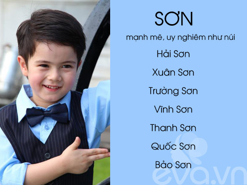 top ten sang, nghia dep cho be trai 2016 (phan 2) - 18