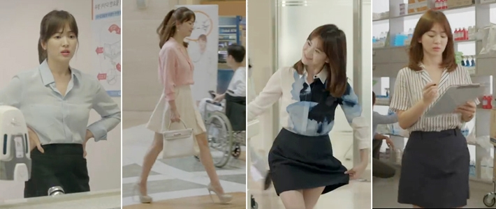"""6 kieu mot cop mac song hye kyo khien chi em """"phat cuong"""" - 1"""
