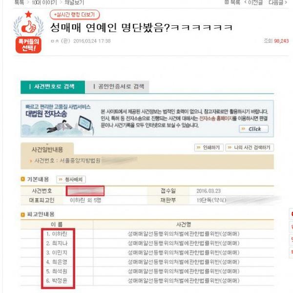 showbiz 24/7: lo danh sach 6 sao han ban dam - 1