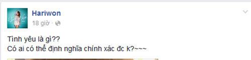 "hari won chuc mung tien dat vuot qua 8 nam ""kho dau"" vi yeu - 1"