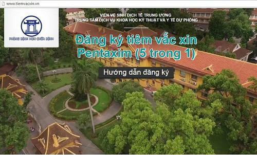 dang ky qua mang 2.500 lieu vac xin tu ngay mai 29/3 - 1