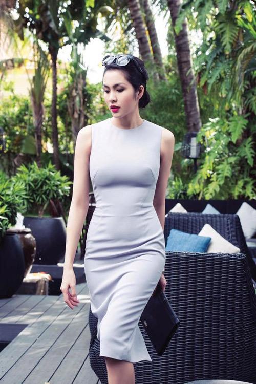 Nữ công sở mặc đẹp như Hà Tăng không hề khó!-2
