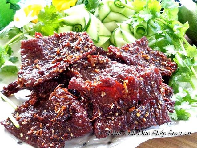 Cách làm thịt bò khô ngọt bằng chảo tuyệt ngon