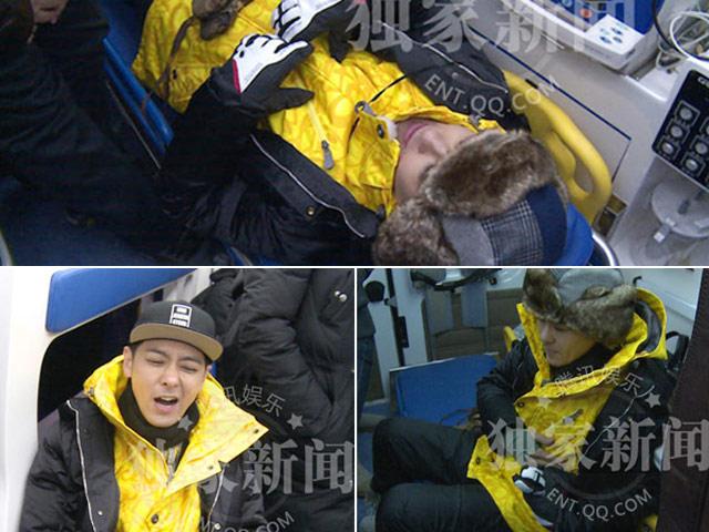 Đang ghi hình, Lâm Chí Dĩnh gặp tai nạn phải nhập viện