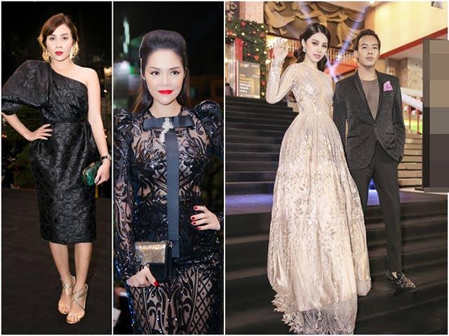 Jolie Nguyễn đẹp kiêu sa, nổi bật bên 2 bà mẹ bỉm sữa đình đám của showbiz