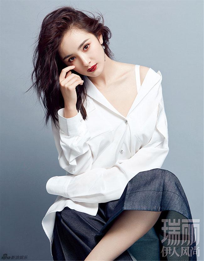 Gặp chuyện buồn trong hôn nhân, mà Dương Mịch càng ngày càng đẹp.