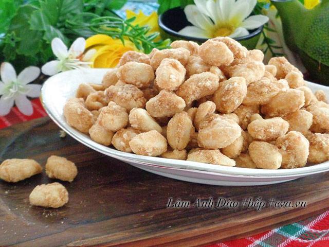 Kẹo đậu phộng ngào đường giòn tan ăn chơi cuối tuần