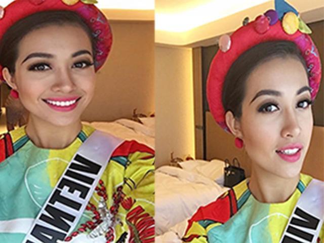 Lệ Hằng cùng dàn người đẹp Miss Universe chúc Tết khán giả Việt Nam