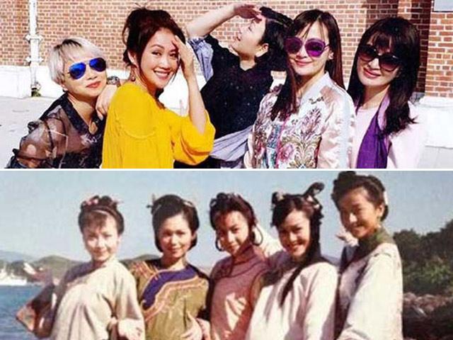 Ngưỡng mộ vẻ đẹp không tuổi của 5 bà vợ Vi Tiểu Bảo phim Lộc Đỉnh Ký