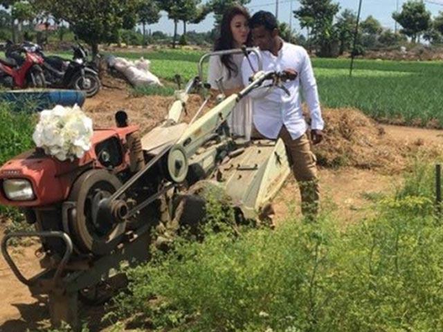 Thích thú với nhật ký tình yêu của Nguyệt Ánh và chồng Ấn Độ