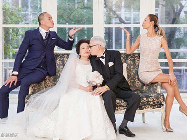 Thật không ngờ vợ chồng Hà Nhuận Đông đã cưới nhau được 1 năm!