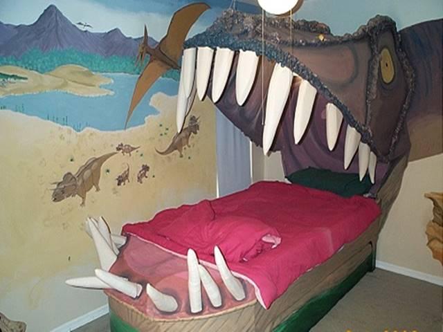 Những kiểu giường ngủ chất đừng hỏi, người vững tim mới dám nằm