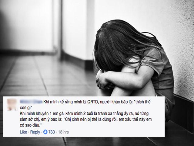 Chia sẻ của nhiều hot blogger về xâm hại tình dục trẻ em khiến các mẹ phải giật mình