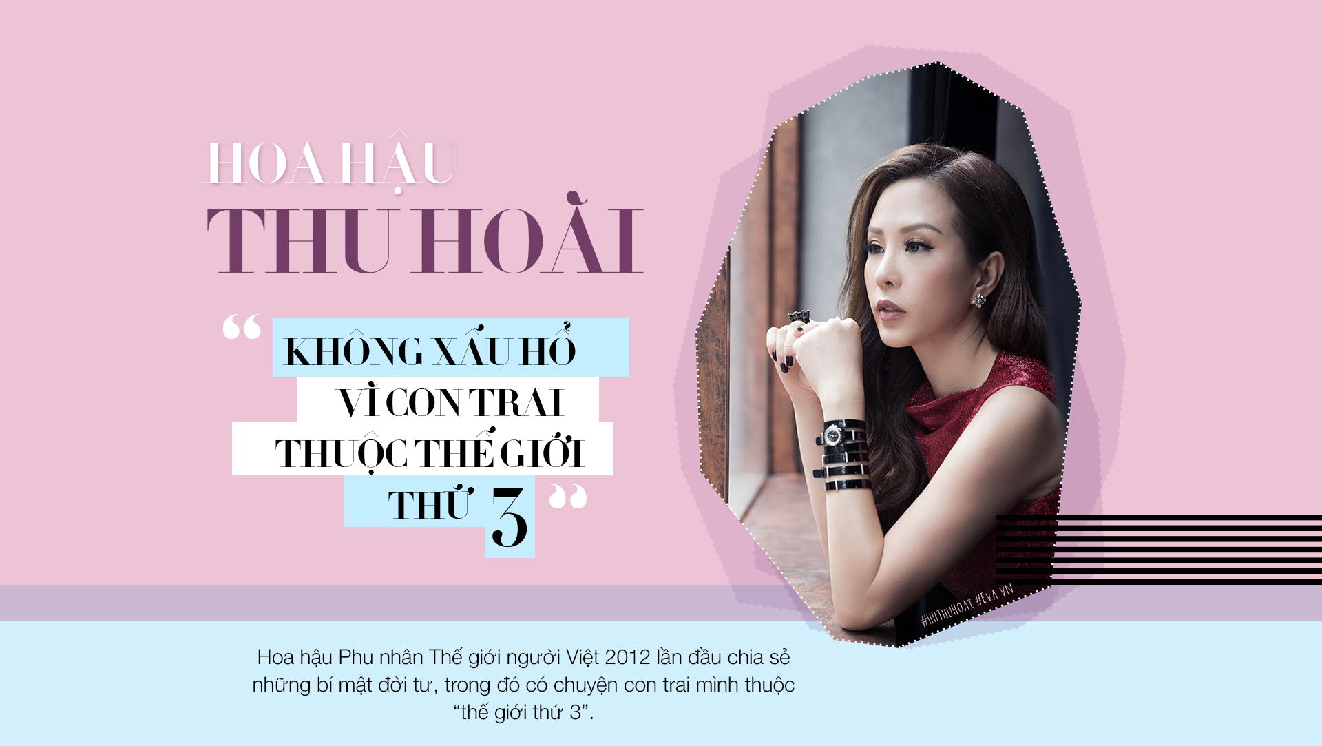 "hh thu hoai: ""khong xau ho vi con trai thuoc the gioi thu 3"" - 1"