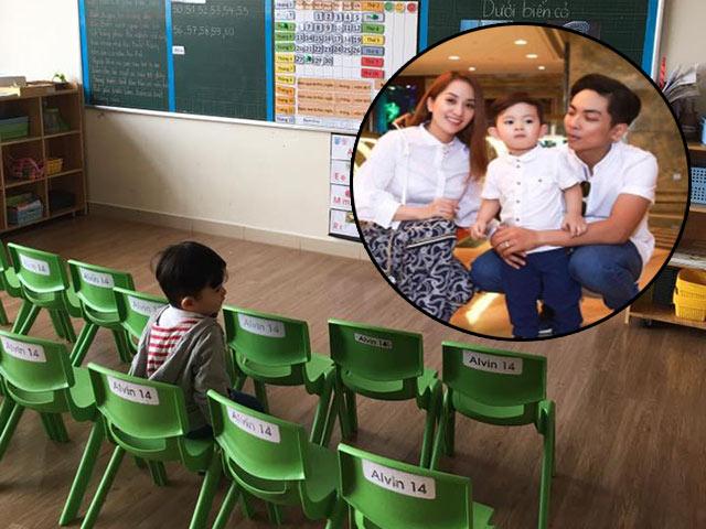 Khánh Thi khoe ảnh con trai ngày đầu đi học, ai cũng giật mình với bảng học phí