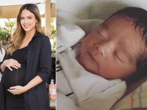 Ngày cuối cùng năm 2017, thiên thần bóng tối Jessica Alba chào đón con thứ 3