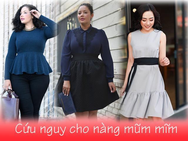 Tuyệt chiêu thời trang cứu nguy cực nhanh cho người béo!