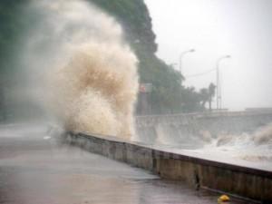Tin bão khẩn cấp: Bão số 1 giật cấp 10 đang uy hiếp bờ biển các tỉnh Phú Yên-Bình Thuận