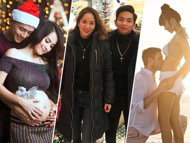 Được coi là năm đẹp nhưng không nhiều mỹ nhân Việt chọn sinh con năm 2018