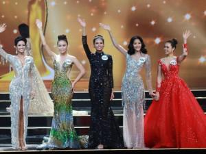 Khán giả chóng mặt vì không biết top 5 Hoa hậu Hoàn Vũ hay Next top Model All Star!