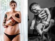 Bà bầu - Nữ nhiếp ảnh gia và những khoảnh khắc sinh nở ấn tượng nhất năm qua