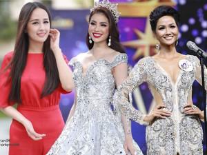 """Phạm Hương đẹp như nữ thần, Phương Trinh Jolie như """"có thù"""" với makeup artist !"""