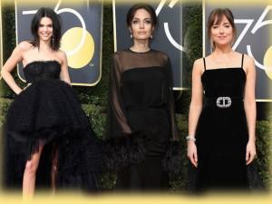 Bất ngờ lý do Angelina Jolie, mỹ nhân 50 sắc thái cùng loạt Sao đen xì trên thảm đỏ