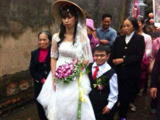 Chú rể cao 1m lần đầu tiết lộ chuyện tình yêu cảm động với người vợ 1m6