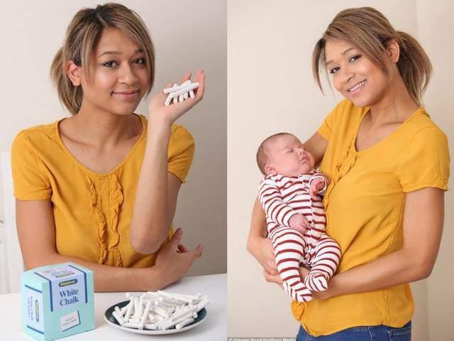 Kỳ lạ bà mẹ mang thai lần đầu nghén giấy vệ sinh, lần thứ hai lại thèm ăn... phấn